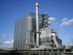 The biomass fired CHP plant Cofely - BCN has an impressive boiler efficiency.