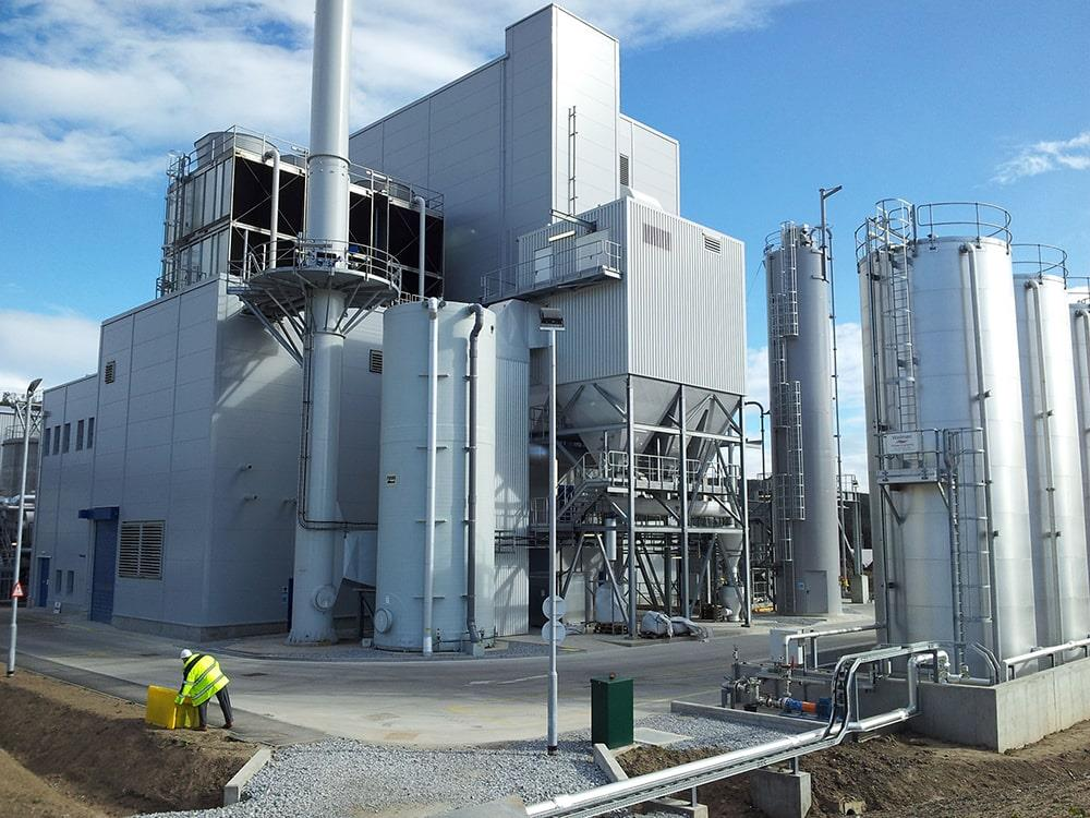 The Helius CoRDe cogeneration plant produces heat and power