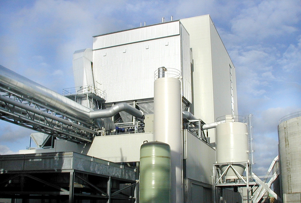 The Gütersloh biomass plant