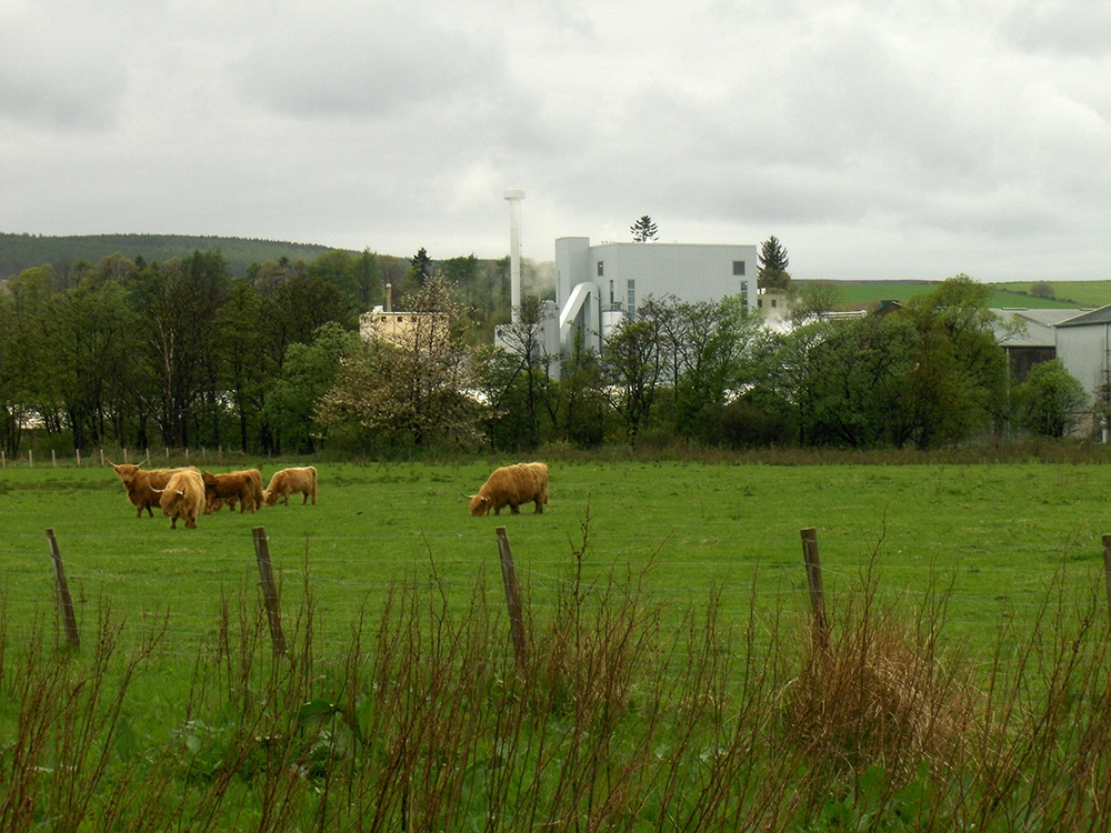 Helius CoRDe Rabobank Combined Heat and Power Plant in Scotland