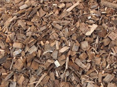 Wood chips - one of many biomass fuels