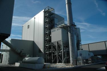 The WWEP power plant has an AET Biomass Boiler