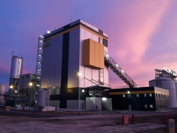 The Cofely GDF-SUEZ cogeneration plant, Bio Cogelyo Normandie (BCN) was delivered by AET in 2012.