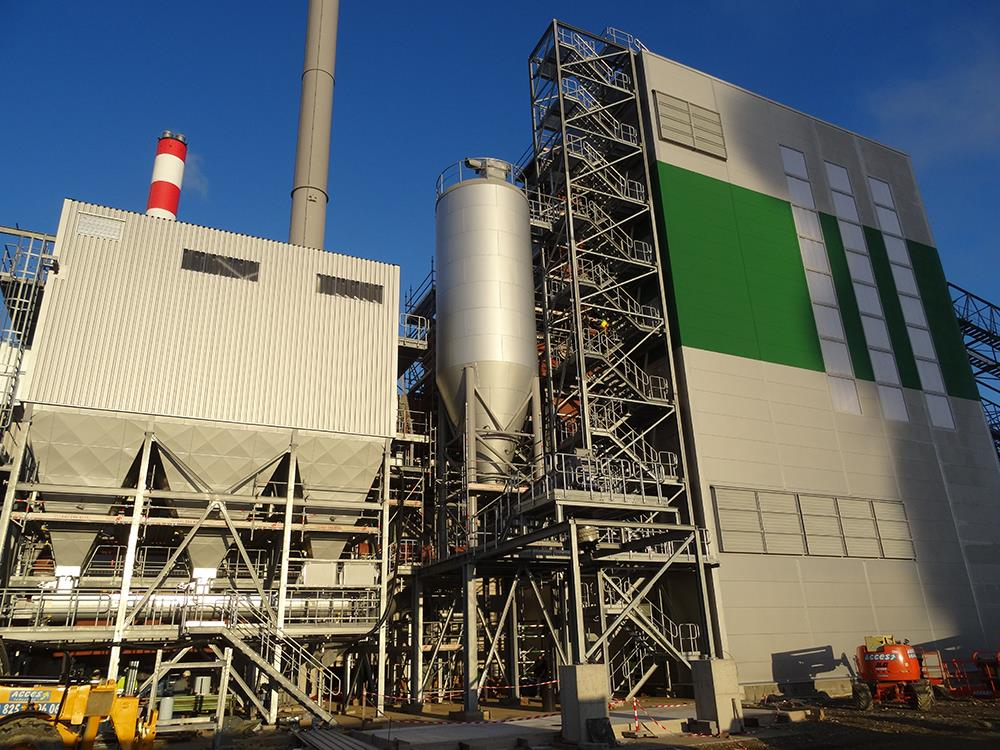 The AET Biomass Boiler at Biolacq Energies in France.