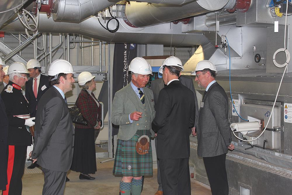 HRH Prince Charles-inaugurates Helius plant