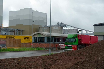 The JG Pears cogeneration plant in Newark