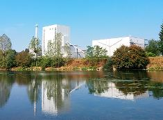 Lake view of the Akuo Energy - CBN.