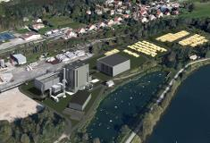 The CHP plant Cogéneration Biomasse de Novillars will be situated on the site of the papermill Gemdoubs.