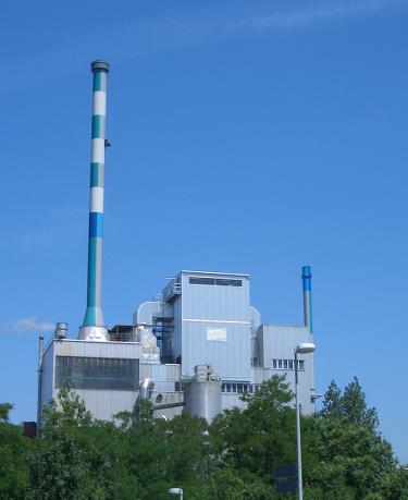 Boehringer Ingelheim Pharma KG, Germany, a 70 MW power plant, using waste wood as fuel.
