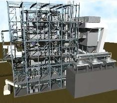 A 3D view of this AET Co-Generation Plant commissioned in Gütersloh, Germany.
